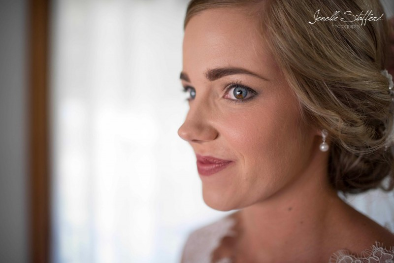Excitement building as the ceremony approaches - one of the most stunning brides I've had the pleasure of laying eyes on.